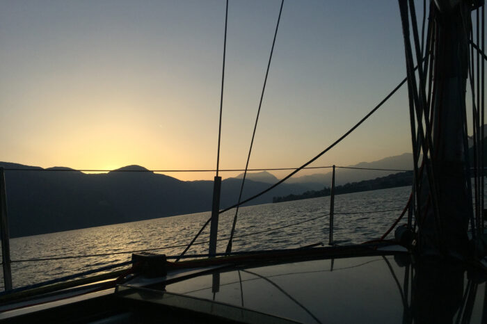 Fine Dining Experience: Sunset on a Sail Boat
